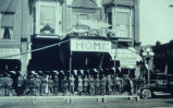 World War I Welcome Home Parade, 1919; Oskaloosa; Iowa;