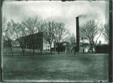 Old Power Plant on corner of Madison and Washington Streets, The University of Iowa, 1910s