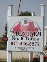 002. Tyden Farm #6 Tour Sign