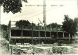 Chemistry Building construction, the University of Iowa, August 1922