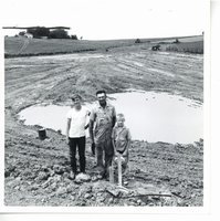Clyde Small and sons, 1966