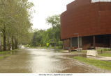 Art Building West flooded, The University of Iowa, June 13, 2008