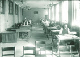 Engineering drawing class, The University of Iowa, ca. 1915