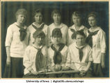 1919 softball team, The University of Iowa, 1919