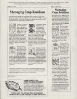 Managing Crop Residue.