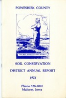 1976 Poweshiek County Soil and Water Conservation District Annual Report