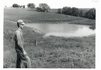 Hartung Bros. fish stocked pond, 1965