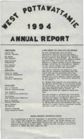 West Pottawattamie County Soil Conservation District Annual Report - 1994