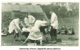 Students playacting on Senior Day, The University of Iowa, May 17, 1922