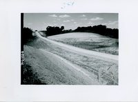 Conservation road structure passing through Jesse Hoover's farm, 1965