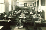 Library training class, The University of Iowa, 1930s