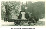 Mecca Day parade float, The University of Iowa, 1923