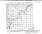 Iowa land survey map of t090n, r041w