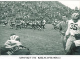 Iowa-Michigan football game, The University of Iowa, 1940s
