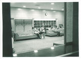 Lobby in Iowa Memorial Union, the University of Iowa, 1950s