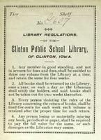 Clinton Public School Library bookplate