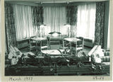 Lounge in Hillcrest, the University of Iowa, Mar. 1957