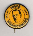 Homecoming badge, October 27, 1934