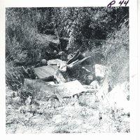 Gully debris at Frances Mooty farm