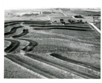 Aerial view of Ernest Burke & Sons Farmland, Atlantic, IA.