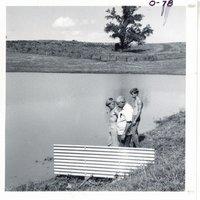 Hertensen farm's baffled spillway, 1969
