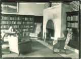 Library fireplace in the Iowa Memorial Union, the University of Iowa, March 25, 1932