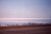 Frozen Waters on East Lake Okoboji.