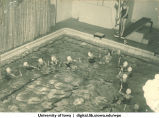 Swimmers, The University of Iowa, 1940s