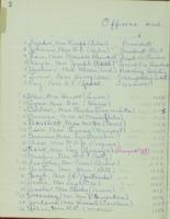 0126 Des Moines Women's Club Minutes 1951-1952