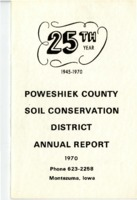 1970 Poweshiek County Soil and Water Conservation District Annual Report