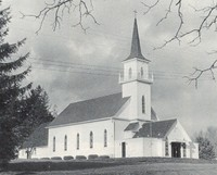 St. Paul Lutheran Church in Garnavillo, Iowa -1978