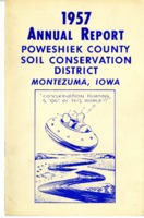 1957 Poweshiek County Soil and Water Conservation District Annual Report