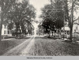 Residential Road in Oskaloosa, 1896; Mahaska County, Iowa