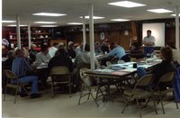 Louisa County commissioners contractors meeting, 2005