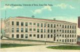 Hall of Engineering, the University of Iowa, 1920s