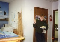 1996 - Assistant Ccmnissioner laura Wagner-Ertz at 50th Anniversary open house