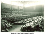 Inauguration ceremony at Field House, The University of Iowa, 1933