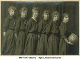 Women's basketball team, The University of Iowa, 1917