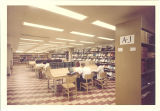 Main Library periodicals collection, the University of Iowa, May 1964