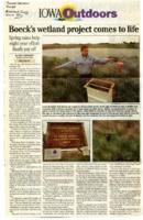Boeck's Wetland Project
