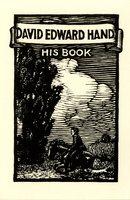 David Edward Hand Bookplate