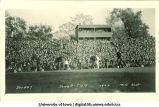 Iowa-Illinois football game, The University of Iowa, October 21, 1922