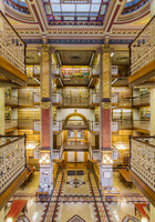 02. Interior of the State of Iowa Law Library