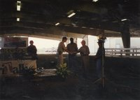 1997 - Conservation awards were presented at Ag Expo 97 by  Commissioner Jeff Bergman and Conservationist JB Martin to <br />