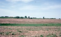 Photograph of brown cropland