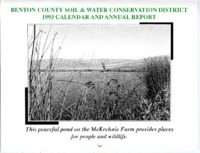 Benton County Soil and Water Conservation District 1993 Calendar and Annual Report