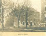 Exterior of the Dental Hall, The University of Iowa, 1900