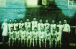 Penn College Basketball Team during the 1920's, Oskaloosa, Iowa