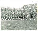 Scottish Highlanders at Rose Bowl, Pasadena, Calif., 1957
