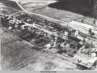 Aerial view Homestead, Homestead, Iowa, 194-
